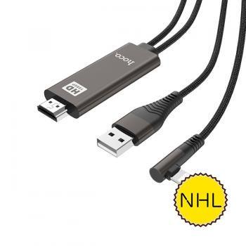 Cáp Lightning sang HDMI HDMI Hoco UA14