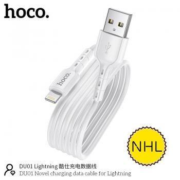 Cáp sạc Hoco DU01 lightning 1m