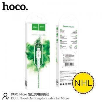 Cáp sạc Hoco DU01 micro 1m