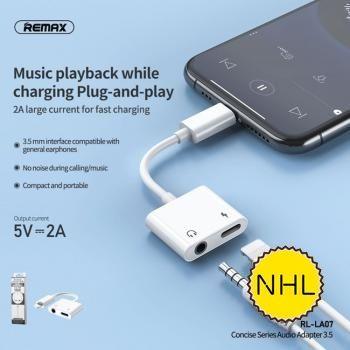 Đầu Chuyển Lightning to lightning - audio 3.5mm Remax RL-LA07
