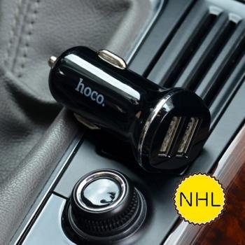 Tẩu oto Hoco Z1 - 2 cổng usb