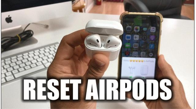 Cách reset Tai nghe AirPods Rep 1:1, Airpods Pro Rep 1:1