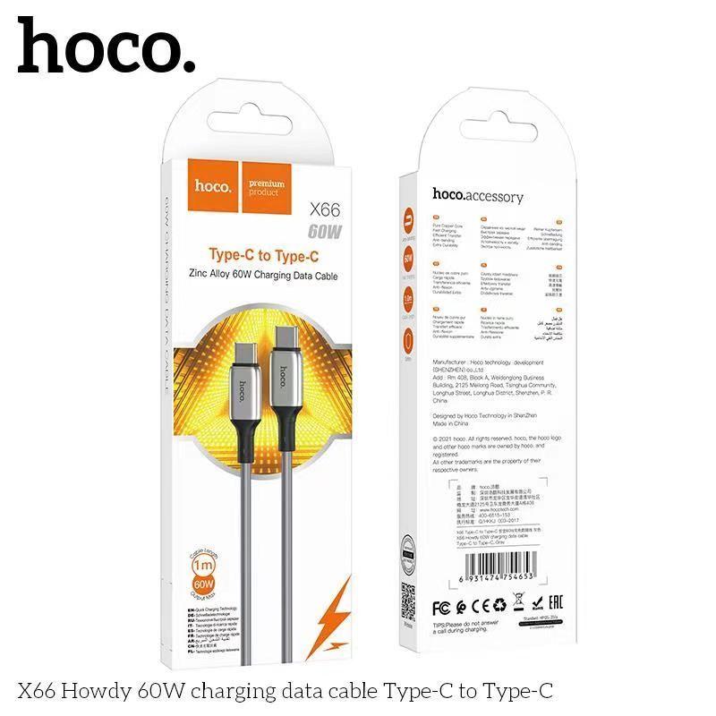 Cáp sạc Typec - Typec Hoco X66