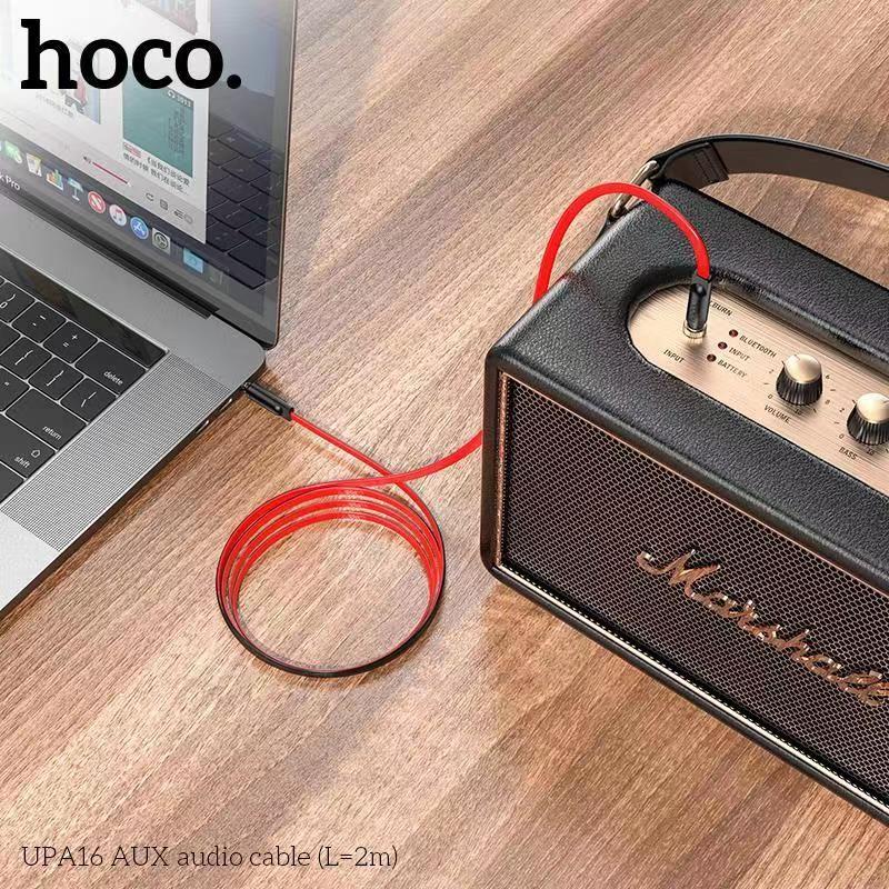 Cáp âm thanh AUX Hoco UPA16 2m