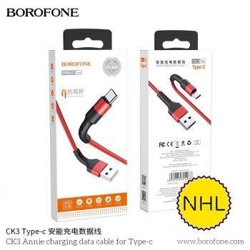 Cáp Sạc Borofone CK3 Type C