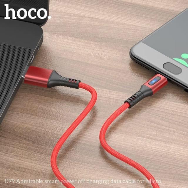 Dây Cáp Sạc Nhanh Micro Hoco U79