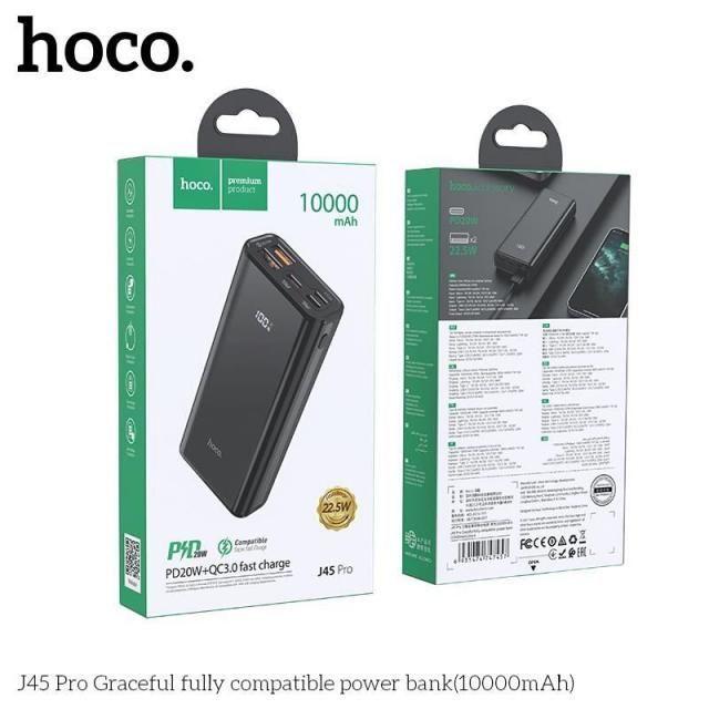 Sạc dự phòng Hoco J45 Pro 10000mAh