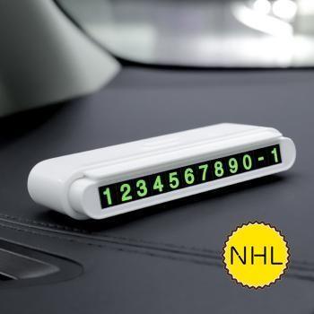 Biển báo số điện thoại trong xe Hoco CPH19