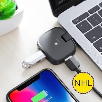 Bộ Chuyển Hoco HB11 Type-C Sang 3 cổng USB 2.0