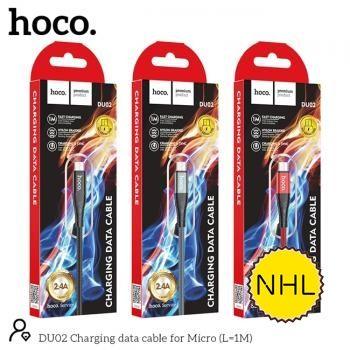 Dây Cáp Sạc Nhanh Micro Hoco DU02