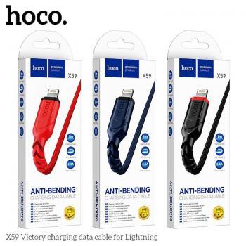 Cáp sạc Hoco X59 Lightning - 1m (New)