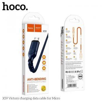 Cáp sạc Hoco X59 Micro - 1m (New)