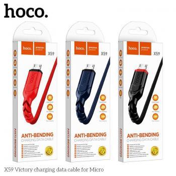 Dây Cáp Sạc Nhanh Micro Hoco X59