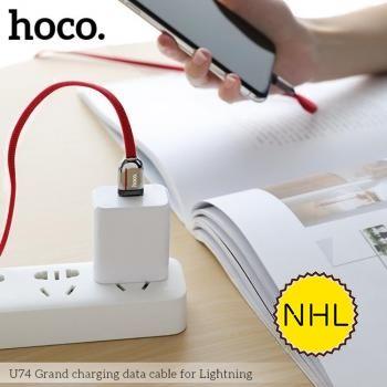 Dây Cáp Sạc Nhanh Lightning Hoco U74