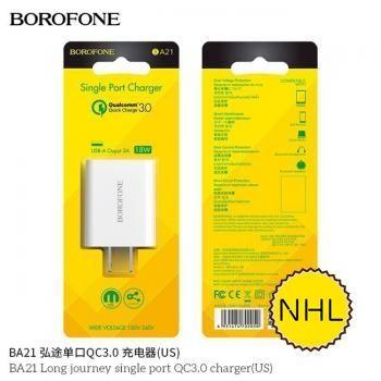 Củ Sạc Nhanh Borofone BA21