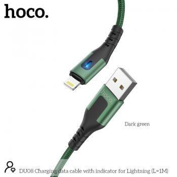 Dây Cáp Sạc Nhanh Lightning Hoco DU08