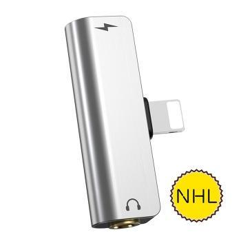 Jack chuyển đổi Hoco LS25 - Lightning to Lightning, 3.5mm