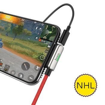 Jack chuyển đổi Hoco LS28 Lightning to Lightning, USB