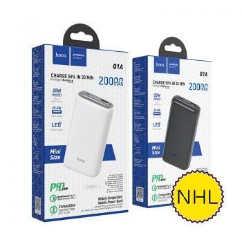 Sạc Dự Phòng Hoco Q1A 20000mAh PD 20W + QC3.0 (New)