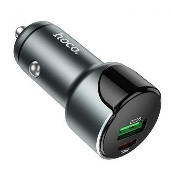 Tẩu oto Hoco Z42 Cổng đơn QC3.0