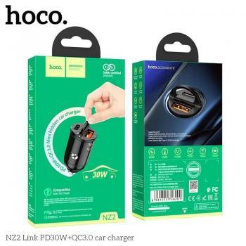 Tẩu sạc ô tô Hoco NZ2