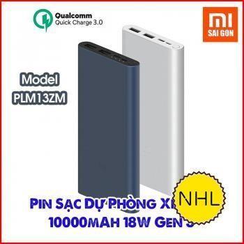 Sạc dự phòng Xiaomi Gen 3 10000mAh