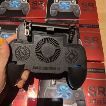 Tay cầm chơi game tản nhiệt SR 2000 mah