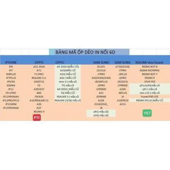 Ốp dẻo viền đen 6D mới (New)
