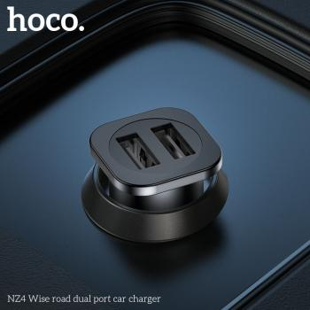 Tẩu sạc Hoco NZ4 2 cổng