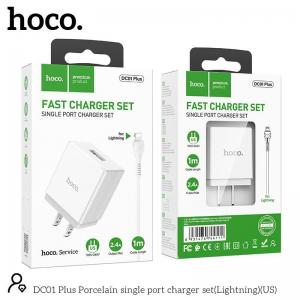 Bộ sạc micro Hoco DC01 plus
