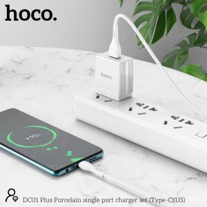 Bộ sạc typeC Hoco DC01 plus