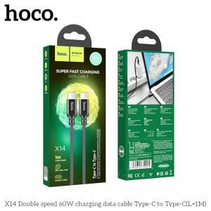 Cáp Sạc Nhanh Typec - Typec Hoco X14