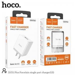 Củ Sạc nhanh Hoco DC01 plus