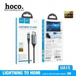 Cáp chuyển đổi Hoco Lightning-HDMI UA15 2m