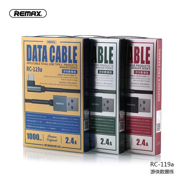 Cáp sạc nhanh Typec Remax RC-119a