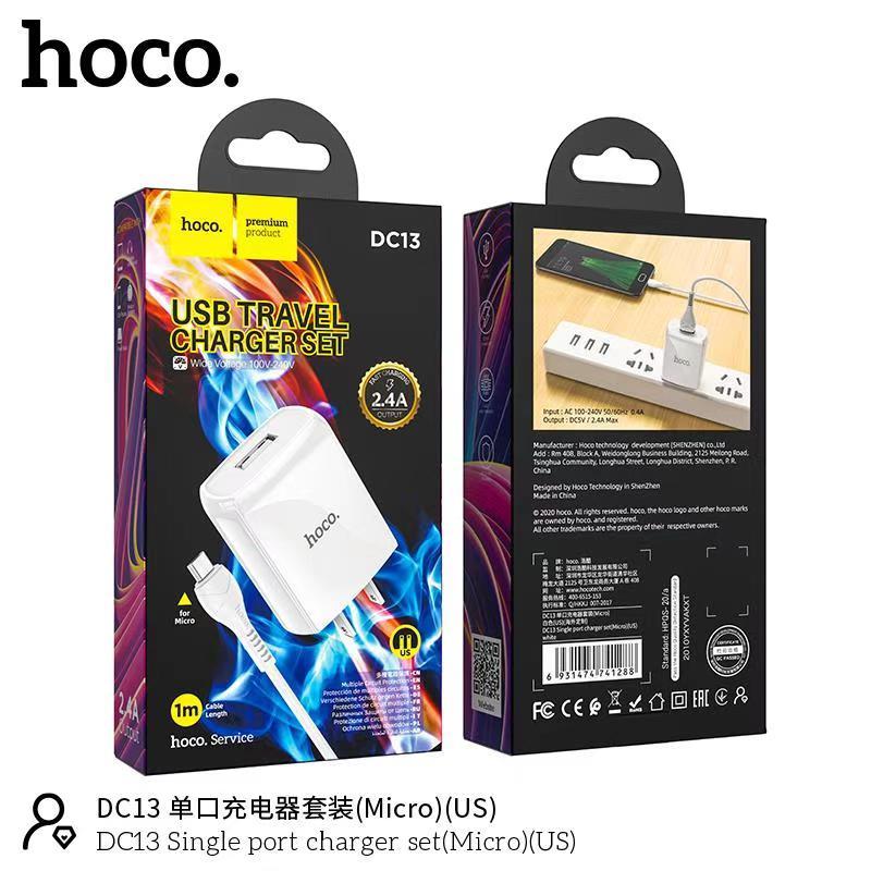 Bộ sạc Micro Hoco DC13