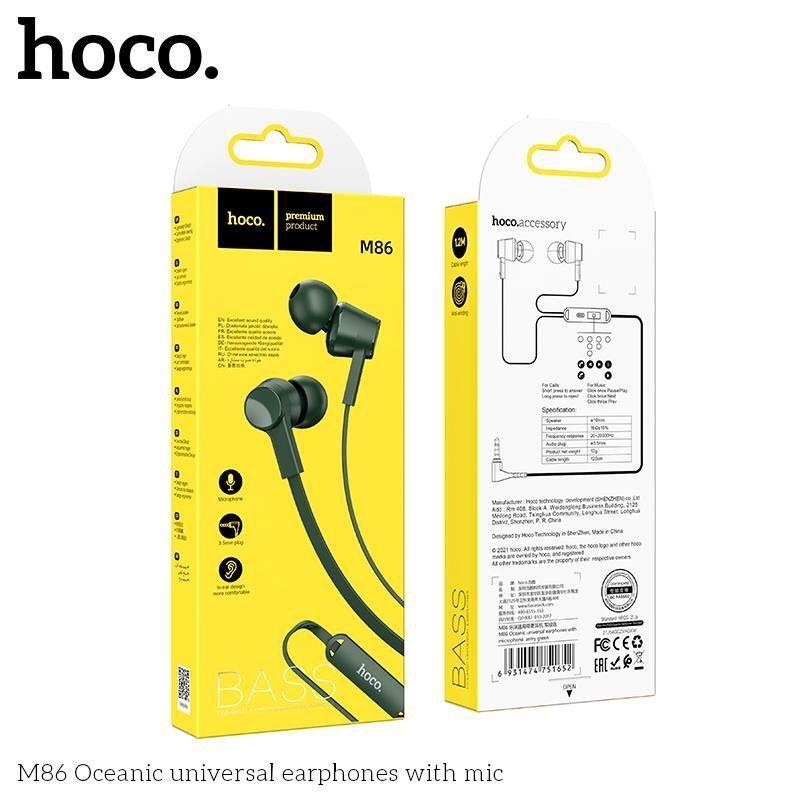 Tai Nghe Có dây Hoco M86