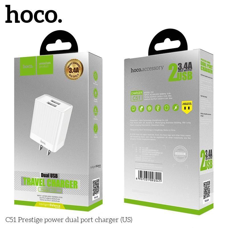 Củ sạc nhanh Hoco C51