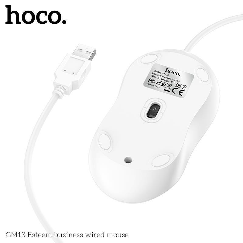 Chuột máy tính có Dây Hoco GM13