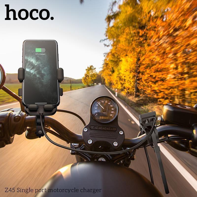 Tẩu Sạc cho xe máy Hoco Z45