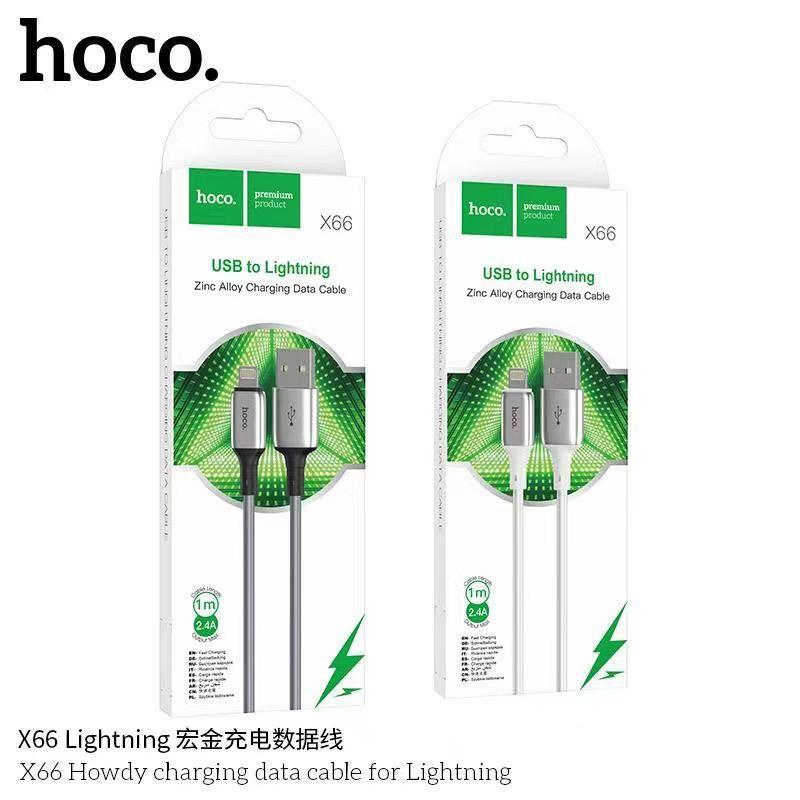 Cáp sạc nhanh Lightning Hoco X66