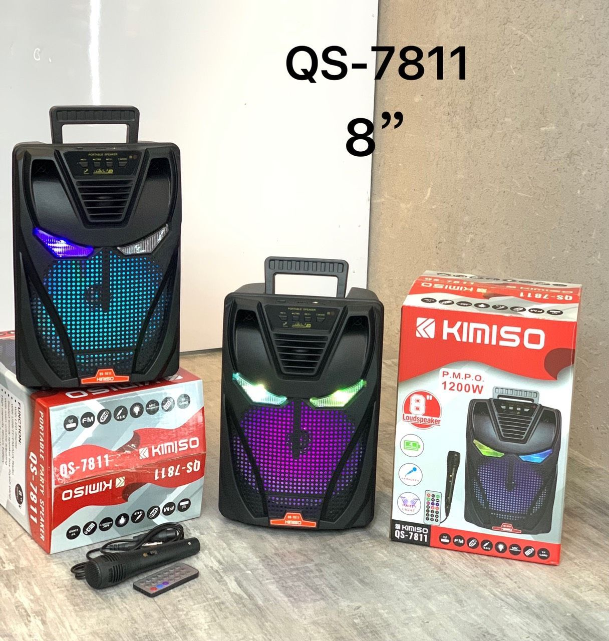 Loa Bluetooth Kimiso QS-7811