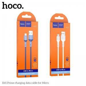 Cáp sạc nhanh Micro Hoco X65