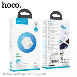 Củ sạc nhanh 2 cổng Hoco NC2