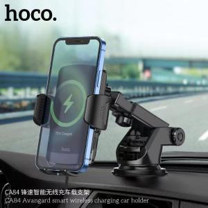 Giá đỡ ô tô kiêm sạc không dây Hoco CA84