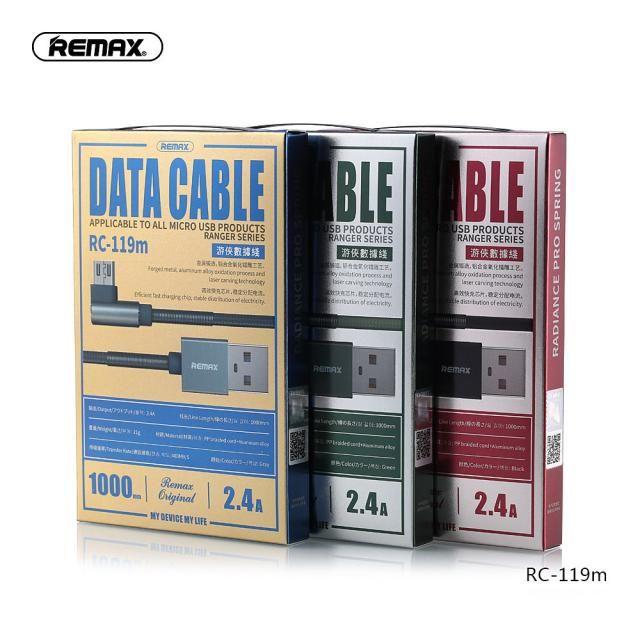 Cáp sạc nhanh Micro Remax RC-119m