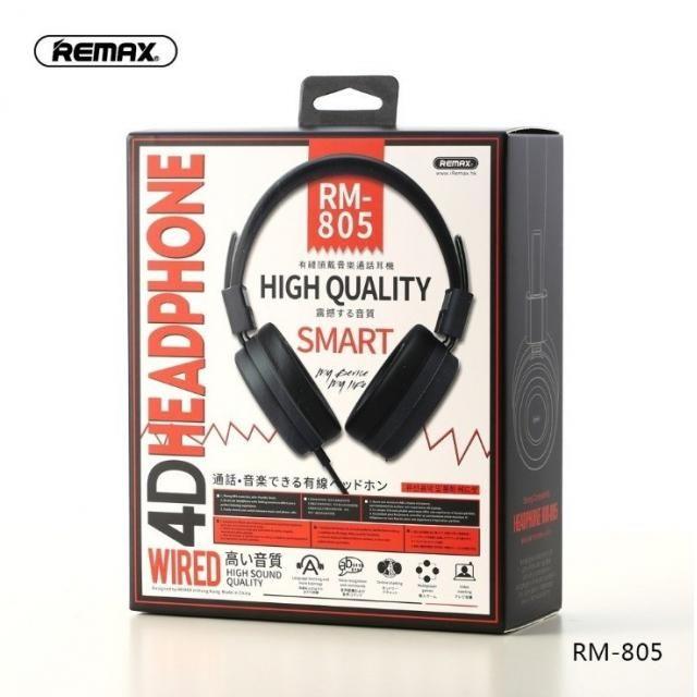 Tai nghe gameming chụp tai Remax RM-805