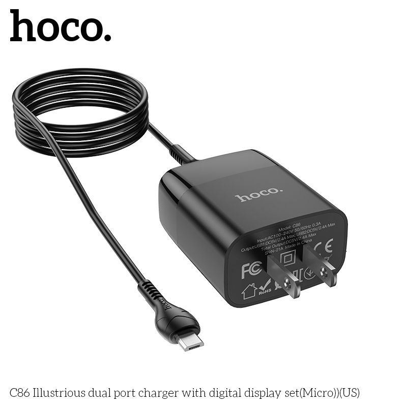 Bộ sạc Micro Hoco C86