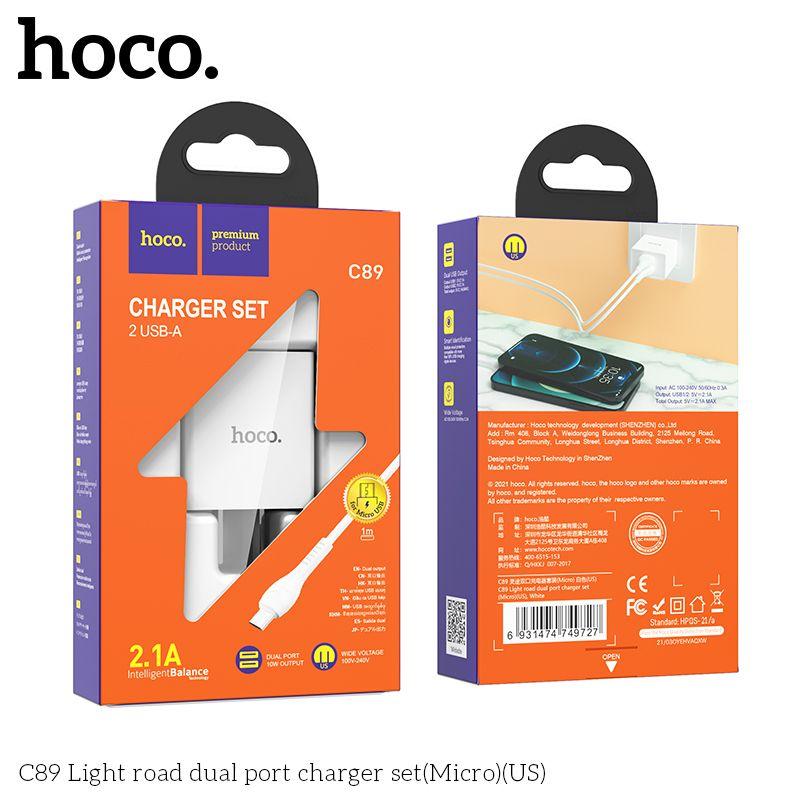 Bộ sạc Micro Hoco C89