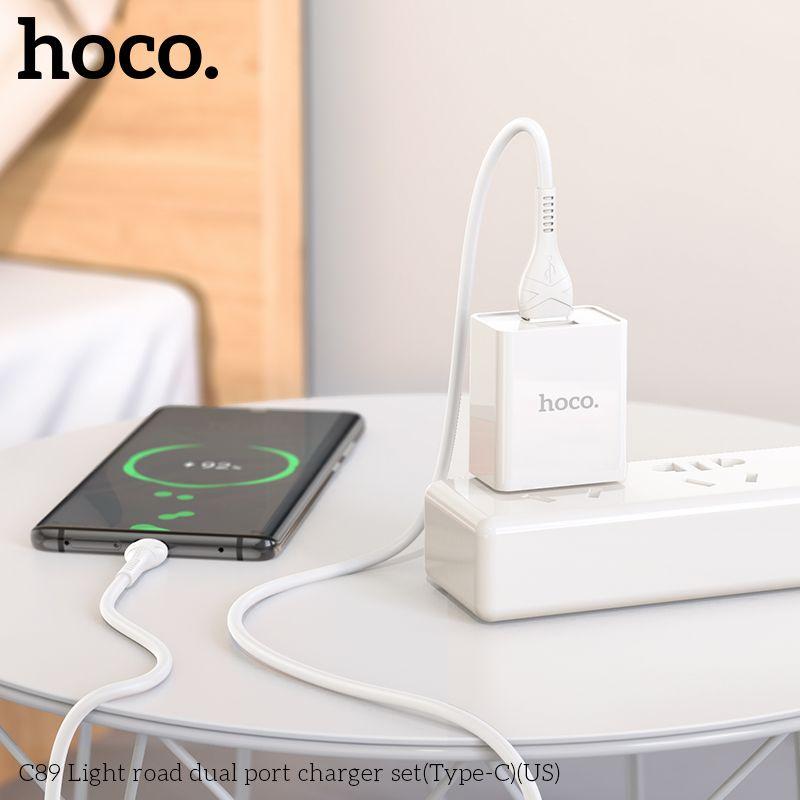 Bộ sạc Typec Hoco C89
